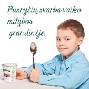 Pusryčių svarba vaiko mityboje1