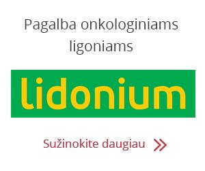 Lidonium – pagalba onkologiniams ligoniams